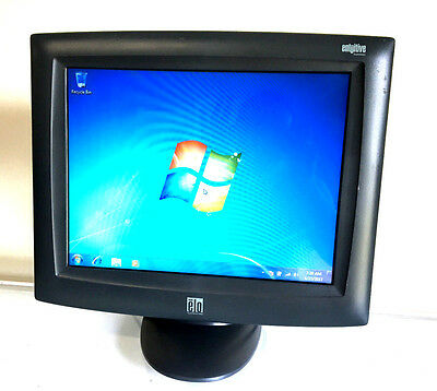 """ELO Touchscreen Monitor ET1525L 15"""" POS TouchScreen with Cables and Stand"""