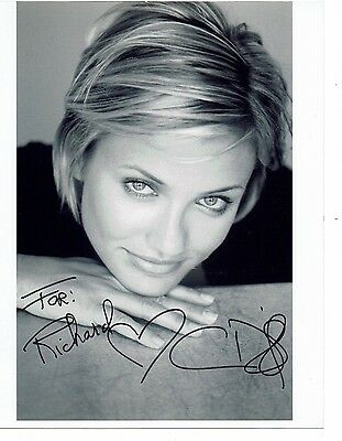 Cameron Diaz Actress Something about Mary Signed Photograph 10 x 8