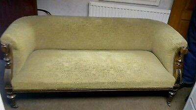 antique settee  Chesterfield style