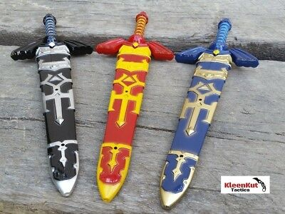 "3 Pc 12"" Legend of Zelda Hylian Hyrule Ocarina of Time Master Dagger Sword SET"