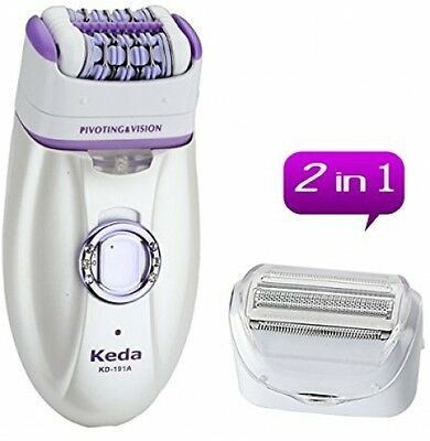 WINLINK 2 in 1 Rechargeable Women Epilator Electric Depilation Remover Hair For
