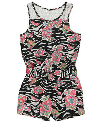 """Pinkhouse Big Girls' """"Carnaby"""" Romper (Sizes 7 - 16)"""
