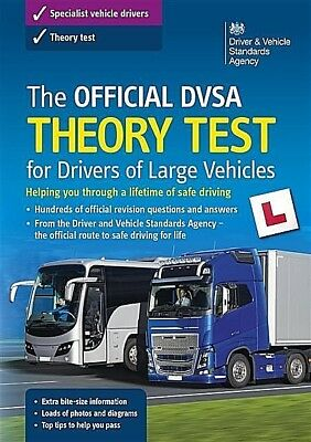 DVSA Theory Test for Drivers of LGV / PCV / HGV Book. valid for 2019 Test