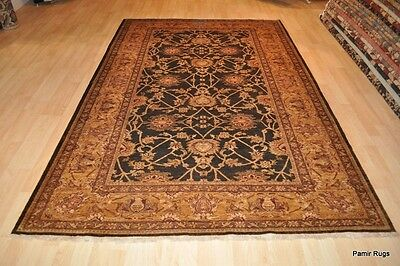 Vegetable dye rug 6' X 9' Persian design TOP QUALITY handmade finely woven