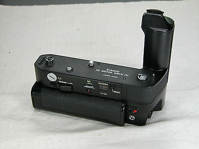 CANON Motor Drive AE FN PERFECT working condition for F-1new FD EXC++ Cosmetics