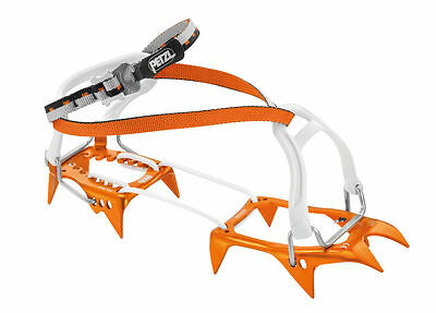 PETZL LEOPARD FL - Ultra-light crampon with FLEXLOCK binding, for snow approache