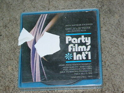 VINTAGE 1960'S  8mm  STAG FILM party films #5