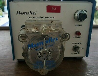 Cole Parmer Master Flex Peristaltic Pump 7520-35 with a head 7021-24