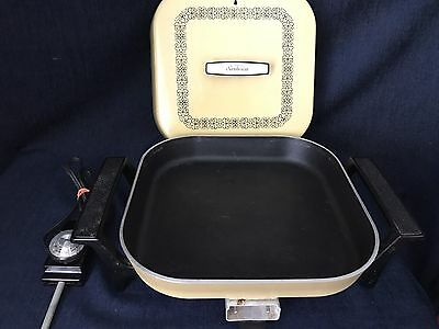 Vintage Sunbeam Electric Skillet Model P-400-P