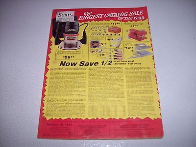 Vintage Sears March 18, 1981 Our Biggest Catalog Sale of the Year Catalog