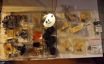 New Old Stock Garcia Mitchell 300 Fishing Reel Repair Parts Box Loaded
