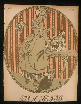 Restored Magazine Image Collection JUGEND ART NOUVEAU /& MORE by Timecamera