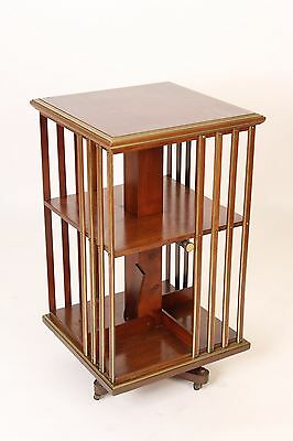 arts and crafts revolving book stand