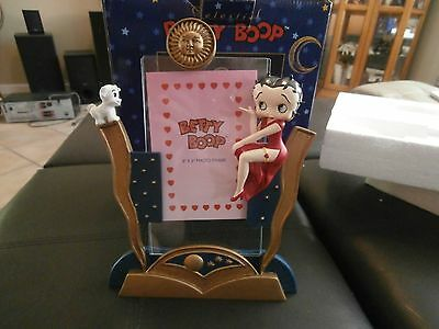 "Vintage Betty Boop Celestial 3"" x 5"" Picture Frame 1999 Vandor"