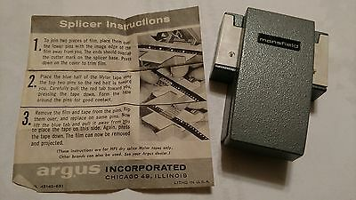 mansfield 8mm film spicer by argus inc.