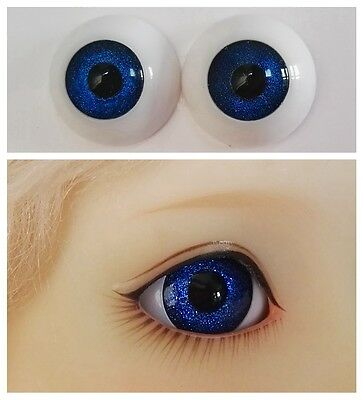 Dark Blue - BJD Eyes - 8mm 10 12 14 16 18 20 22 MSD SD13/10 Doll Dollfie