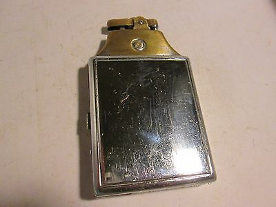 Vintage Lighter W/cig. Case Made In Japan 4 1/4 High X 2 1/4 Closed Read Read!
