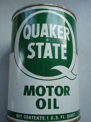 New full can vintage Quaker State 30 weight Outboard Motor Oil  Duplex