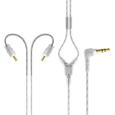 Mee M6 Pro Replacement Stereo Audio Cable (Clear)