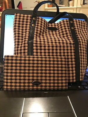 Pre-Owned Longaberger Purse with Matching Wallet