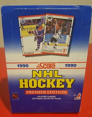 1990 Score NHL Hockey Premier Edition, collector cards