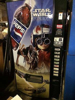 PEPSI STAR WARS POP SODA MACHINE - working unit - buisiness closed