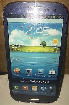 Blue 1:1 Fake Non Working Dummy Display Phone for Samsung Galaxy S3
