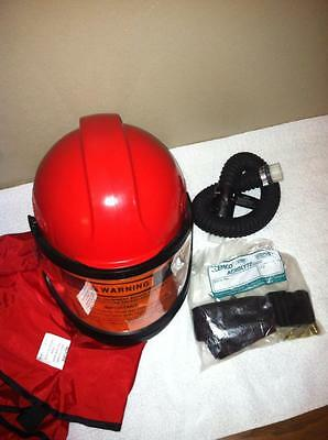 CLEMCO Sandblasting Helmet Apollo 60 Supplied- Air Industrial Respirator
