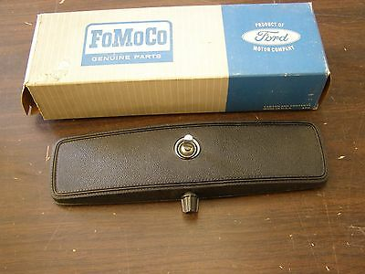 NOS OEM 1966 1967 Ford Fairlane Deluxe Rear View Mirror + Some Mustang