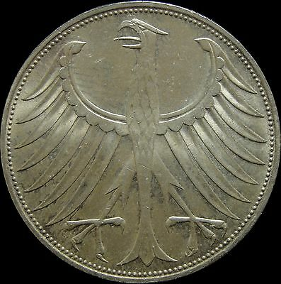 1974 D Germany Federal Republic 5 Marks A11208