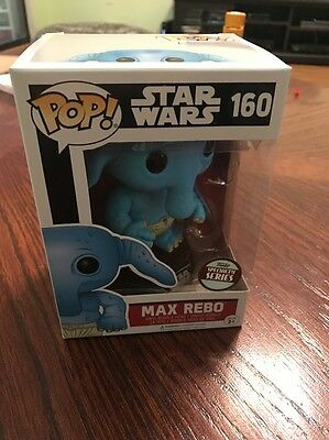 Funko Pop! Star Wars 160 Max Rebo Specialty Series Exclusive New in Box