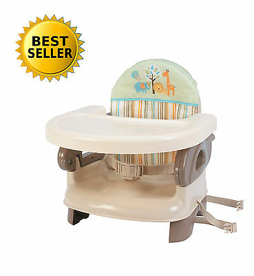Infant Baby Feeding Seat Toddler Booster Folding High Chair Adjustable Portable