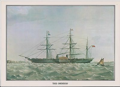 (K22-11) story of the post the ORINOCO picture & text