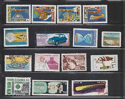 (U24-20) 1910- Brazil mix of 29stamps values to 650ct (B)