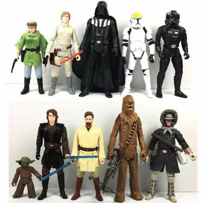 "random Lot 5PCS Star Wars Epic Battles Clone Wars Trooper 3.75"" Movie Figure toy"