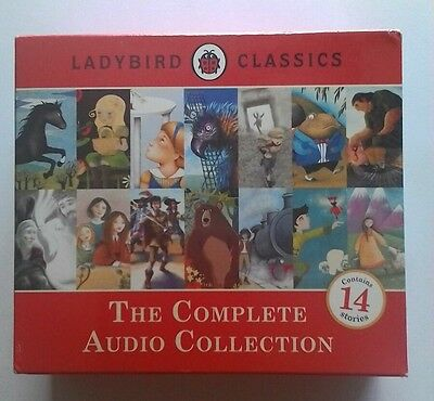 Ladybird Classics: The Complete Audio Collection CD'S Rachel Bavidge BRAND NEW