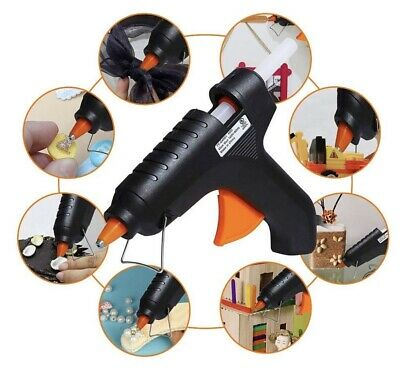 40w Electric Heating Hot Melt Glue Gun with 2 Glue Sticks for Arts Craft Au Plug
