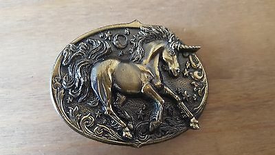 VINTAGE Unicorn American belt buckle by The Great American Buckle. USA 1981 #511