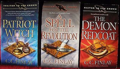 C.C. Finlay Traitor to the Crown Historical Fantasy Complete Trilogy Book lot