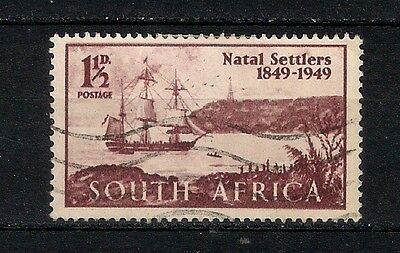 South Africa  1949  Used - Boats  - 6/1