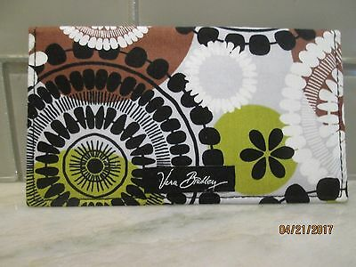 *** New With Tags *** Vera Bradley Checkbook Cover COCOA MOSS
