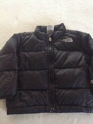 Infant Toddler The North Face Black Down Puffer Coat 550
