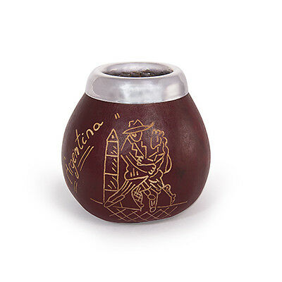 NEW NEW Traditional Yerba Mate Gourd Cup