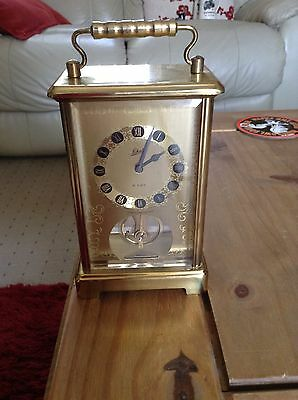 8 Day Carriage Clock by Schatz & Sohne made in West Germany Working Order