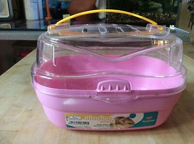 Small Pet Carrier Pink