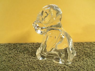 1940s Federal Glass Company Beagle Dog Puppy Antique Candy Container