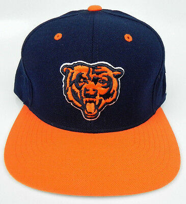 cbb83261486 Chicago Bears Nfl Mitchell And   Ness Vintage Snapback 2-Tone Cap Hat ...