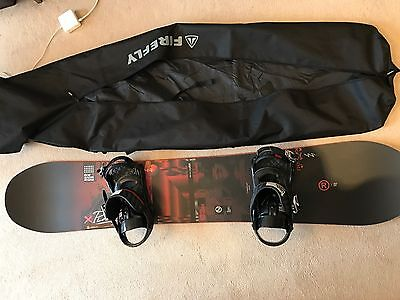 2016 Nidecker Play Snowboard (159)+ Play bindings + Bag: Brand New / Unused