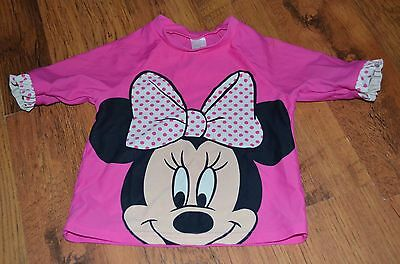Minnie Mouse swimming Top size 6-9 months