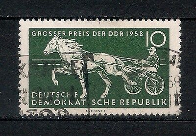 GERMANY DDR  1958  USED - stagecoach  - 6/2